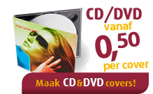 CD en DVD covers of hoesjes printen